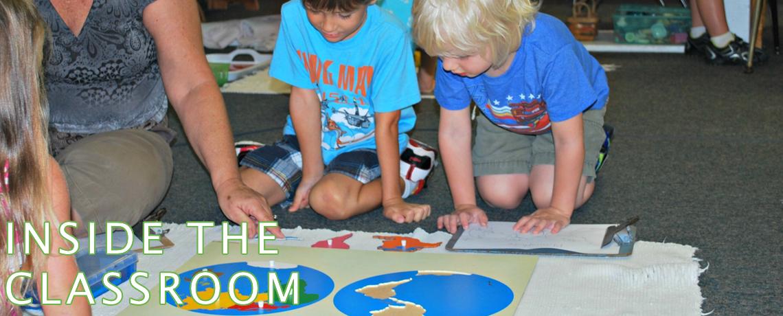 Inside the Montessori Classroom