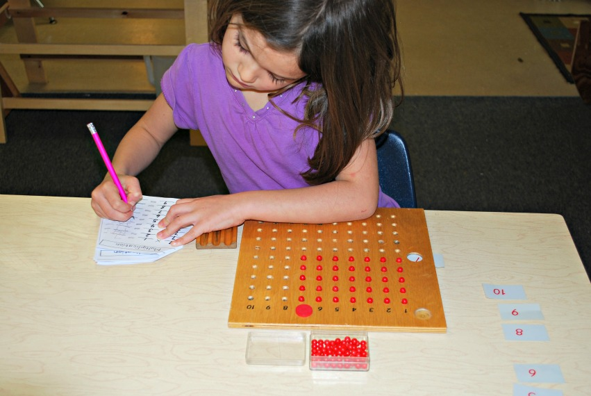 how does the child progress from abstract to concrete in the montessori mathematics materials How does the child progress from concrete to abstract in the use of the mathematics materials in montessori  when they are ready to progress so they.